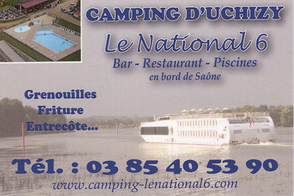 CAMPING D'UCHIZY- Le National 6